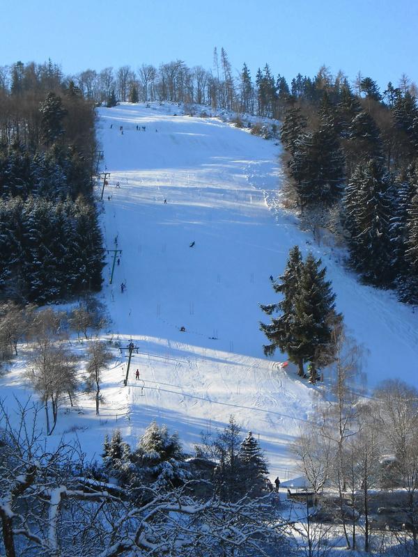 Wintersport in Kleingladenbach